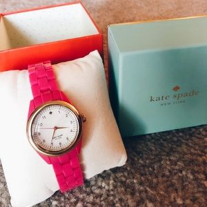 NEW IN BOX pink kate spade watch